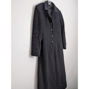 St. John Coat Collection Cashmere Full Body Size 8